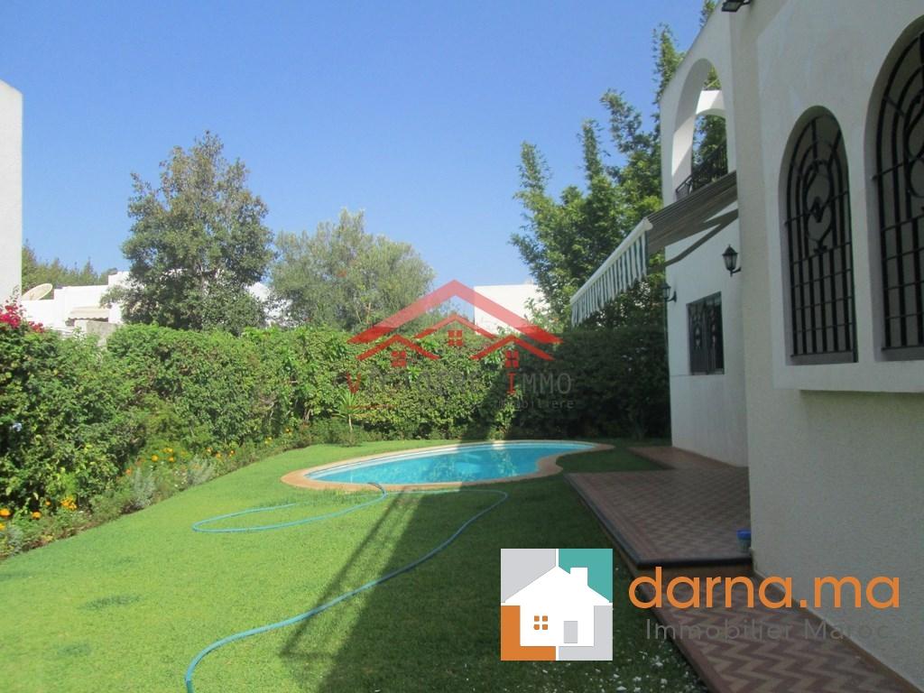Villa avec piscine en location vide hay riad for Villa a louer a casablanca avec piscine