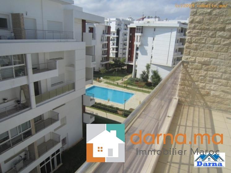 Appartement en location rabat hay riad immobilier maroc for Mobilia hay riad rabat