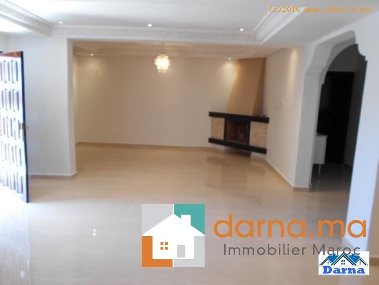 Villa en location rabat hay riad immobilier maroc for Mobilia hay riad rabat