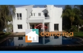Immobilier-258, Villa de standing avec piscine en location vide à l'Ambassadors Souissi