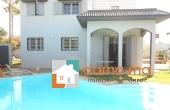 Immobilier-2646, villa de luxe en location à RABAT Souissi