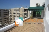 Grand appartement avec 2 terrasses à Rabat agdal