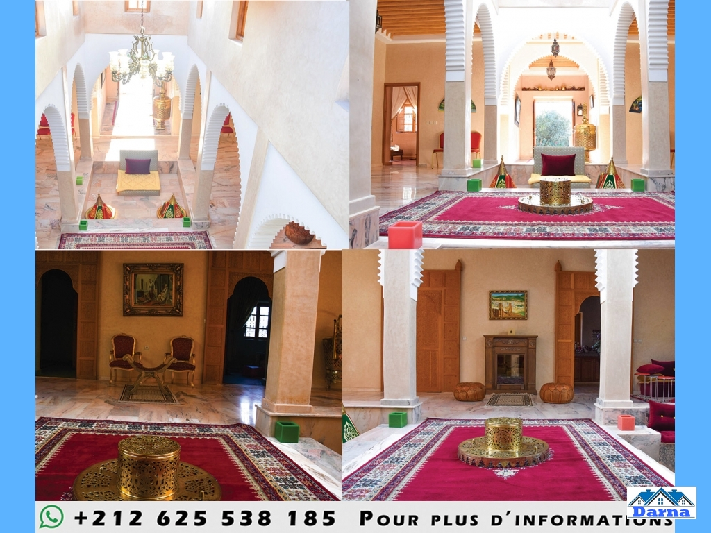 Magnifique ferme à marrakech avec villa a louer sur un terrain de 20000 m2