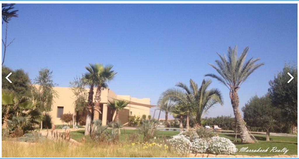 Tr s belle villa 5 chambres avec grande piscine chauff e for Construction piscine marrakech