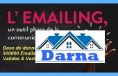 Immobilier-5513, Base donnée 700 000 adresses emails des sociétés