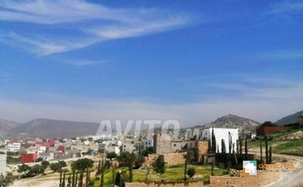 Bien situe terrain titrée a agadir a imouzzer de 1500 m pour contruit villa