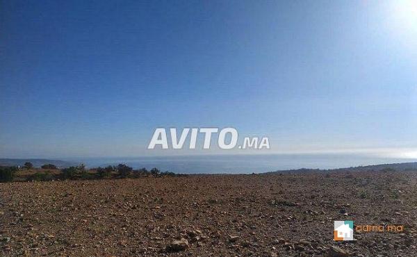 agadir a haute taghazot terrain de 3600 m vu sur de plage 1km