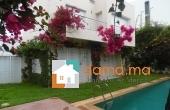 Villa de 450m² vide en location au quartier de Souissi